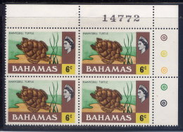 BAHAMAS, PLATE BLOCK, NO. 318, MNH