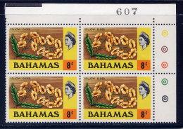 BAHAMAS, PLATE BLOCK, NO. 320, MNH