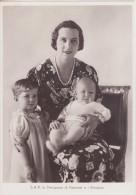 La Principessa Di Piemonte E I Principini - Case Reali