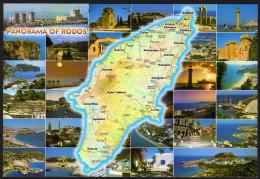 Landkarte - Insel Rhodos - Landkarten