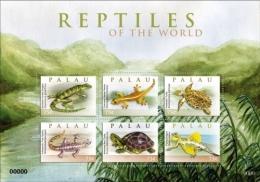 PALAU  1003 ; IGPC ; MINT N H STAMPS ( REPTILES - Palau