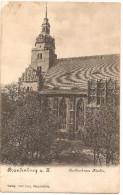 RARE CPA Gruss Aus Brandenburg Katharinen Kirche Avant 1904 Neuve Précurseur - Brandenburg