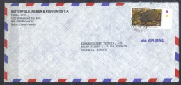 Belize Long Cover  Insect Beetle Megasoma  , Posted  1996 To Czechoslovakia - Insects