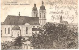 Schneidemühl : Blick Auf Katholische Und Johanniskirche Feldpost II E.B.149 Rekr Depot 1917 - Pommern