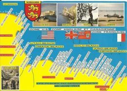 France Debarquement Bataille Normandie Overlord D-Day Utah Omaha Gold Juno Sword Beach - Guerra 1939-45