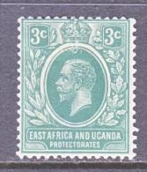 KENYA And UGANDA   2  *  Wmk. 4 - Kenya, Uganda & Tanganyika