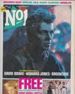 David Bowie COVER N°1 SEPT84    HOWARD JONES  UK - Revues & Journaux