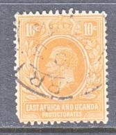 EAST AFRICA AND UGANDA   4   Fault   (o)  Wmk. 4 - Kenya, Uganda & Tanganyika