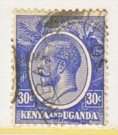 KENYA And UGANDA   26  (o)  Wmk. 4 - Kenya, Uganda & Tanganyika
