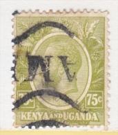KENYA And UGANDA   28   (o)  Wmk. 4 - Kenya, Uganda & Tanganyika