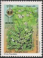 BRAZIL - BICENTENARY OF BOTANICAL GARDEN OF RIO DE JANEIRO 2008 - MNH - Pflanzen Und Botanik