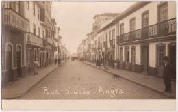 Angra Do Heroísmo - Rua Da Sé - Ilha Terceira - Açores (postal Fotográfico) Portugal - Açores