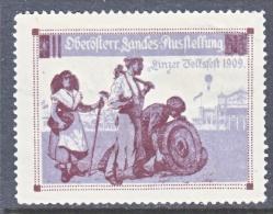 HUNGARY  FAIR  1909    * - Unused Stamps