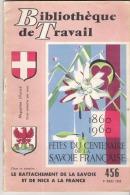 BT FREINET  LE RATTACHEMENT DE LA SAVOIE ET DE NICE A LA FRANCE N° 456 - Rhône-Alpes