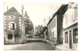 COLMERY Dpt58 Route De Chateauneuf CPSM 9x14 De 1952 - Autres Communes