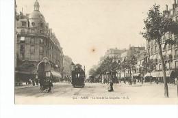 75 Paris XVIII Eme La Rue De La Chapelle - Distretto: 18