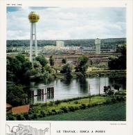 POISSY Usine Simca 1960 - Old Paper