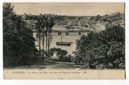 Ref 193 - AUDIERNE - Le Port Et La Ville - Vue Prise Du Parc De Loquéran - Audierne