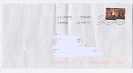 LETTRE 2014-FEU DE LA SAINT JEAN -E418 - France