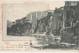 CPA ITALIE ITALIA SORRENTO Saluti 1901 - Napoli