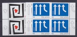 Europa Cept 2006 Iceland 2v Bl Of 4 ** Mnh (14951) - Europa-CEPT