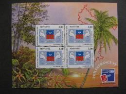 Mayotte: TB BF N°1, Neuf XX . - Blocs-feuillets