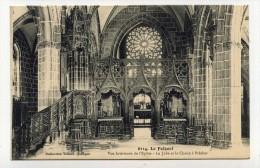 CP , 29 , LE FOLGOET , Vue Intérieure De L'Eglise - Le Folgoët