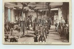 JOINVILLE  - Ecole Primaire Supérieure, L'atelier De Mécanique. - Joinville