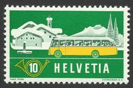 Switzerland, 10 C. 1953, Sc # 345, Mi # 586, MH - Zwitserland