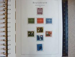 Allemagne (r�p f�d) tr�s belle collection en 5 album oblit�r�s + neuf de 1960 � 2000 (voir description)