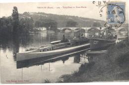 Cp Torpilleur Et Sous-Marin - Vernon