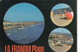 BF20052 La Franqui Plage Souvenir France  Front/back Image - Languedoc-Roussillon