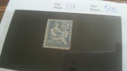 LOT 216555 TIMBRE DE FRANCE NEUF* N�127 VALEUR 110 EUROS
