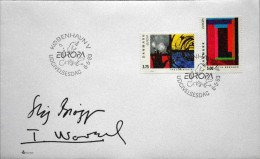 Denmark 1993 EUROPA Minr.1052-53   FDC ( Lot 2111) - FDC