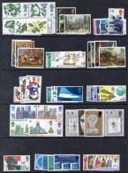 1967 - 1969 Selection Of 14 Different UM/MNH Commemorative Sets As Scanned - 1952-.... (Elizabeth II)