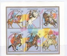 LIBYA HORSE  NICE MINT NEVER HINGED  MINI SHEET, Collection Item - Libië