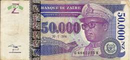 """5 000 Zaïres     """"ZAÏRE """"   30 1 1996          Ble76 - Zaire"""