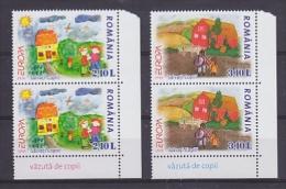 Europa Cept 2006 Romania 2v (pair)  ** Mnh (15001) - Europa-CEPT
