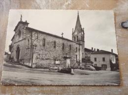 Saint Prim L église Et La Place Cpm - France