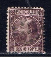 NL+ Niederlande 1867 Mi 11 Willem III. - Gebruikt