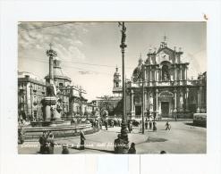 CATANIA,il Duomo E Fontana Dell'elefante-1957 - Catania