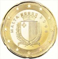 Malta  2008    20 Cent     UNC Uit De Rol  UNC Du Rouleaux - Malta