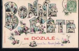 Bonne Fête De DOZULE . - Francia