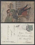 F. Soulacroix - Trieste Re In Visita Cartolina - Unclassified