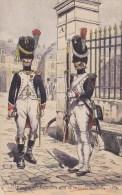 CP Chasseurs à Pied De La Garde Impériale 1804 - Pierre Albert Leroux - Illustrateurs & Photographes