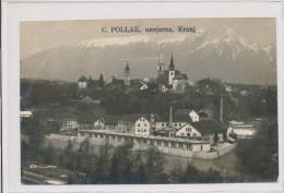 SLOVENIA, KRANJ, C. POLLAK USNJARNA, EX Cond. Real Photo PC Used 1933 - Slowenien