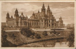 United Kingdom/Scotland - Postcard unused - The Art Galleries,Glasgow  - 2/scans
