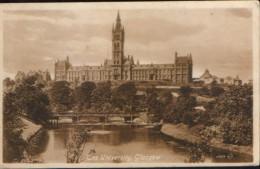 United Kingdom/Scotland - Postcard unused - The University ,Glasgow  - 2/scans