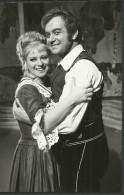 """Originalfoto, Peter MINICH, """"Der Vogelhändler"""" 1966, Unbeschrieben, In Spitzenerhaltung - Entertainers"""