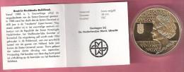 NEDERLAND MEDAL 400 JAAR STATEN-GENERAAL 1588-1988 DEN HAAG FDC - Pays-Bas